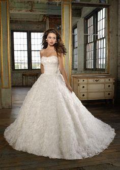 Angelina Faccenda Bridal Couture for Mori Lee