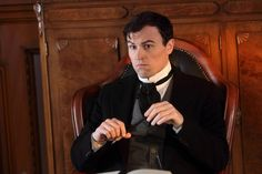 And .... Paul Amos as Dr Roberts in Murdoch Mysteries!