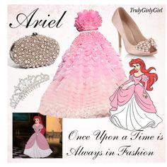 Disney Style: Ariel, created by trulygirlygirl on Polyvore
