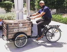 Ice Cream Bike Business | Icicle Tricycles