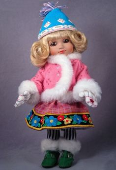 ©Mary Engelbreit Winter Play 2005 Robert Tonner DRESSED DOLL TS-E10D-02-003 LE1000 Originally Sold For $99.99