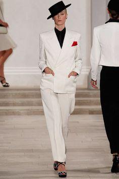 Ralph Lauren NYFW Fashion Menswear Inspired Flamenco hat