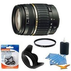 Tamron AF 18-200mm f/3.5-6.3 XR Di II LD Aspherical (IF) Macro Zoom Lens for Canon Digital SLR Cameras with 62mm Multicoated UV Protective Filter, 62mm Hard Lens Hood, Lens Cap Keeper, and 5 pc. Lens Cleaning Kit - http://www.bestdslrdigitalcamera.com/camera-photo-video/lenses/tamron-af-18200mm-f3563-xr-di-ii-ld-aspherical-if-macro-zoom-lens-for-canon-digital-slr-cameras-with-62mm-multicoated-uv-protective-filter-62mm-hard-lens-hood-lens-cap-keeper-and-5-pc-lens-cleaning-ki/