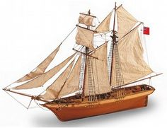 The Artesania Latina Scottish Maid wooden ship model accurately recreates the real life ship with a high level of detail. This wooden boat kit is recommended for modellers of novice skill level and above.