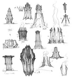Darksiders concept art by Paul Richards (4)