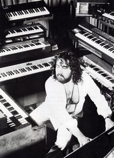 Uno de los Marstros del Synth/One of the Master of Synth: Vangelis