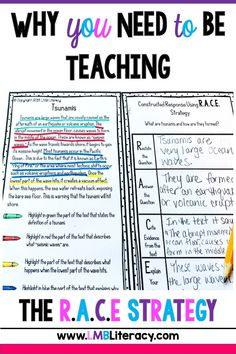 E Writing Strategy has been a lifesaver for my students. This post gives my suggestions for implementation as well as a helpful resource! Races Writing Strategy, Race Writing, Writing Games, 3rd Grade Writing, 5th Grade Reading, Writing Strategies, Teaching Writing, Writing Skills, Writing Rubrics