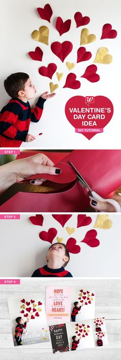 This adorable DIY Valentine's Day card idea + our Same Day Pickup is a match made in heaven. Create and pick up your custom Valentine's Day cards today!