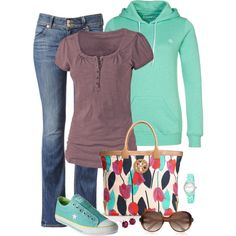 Sports Mom Weekend by kp802 on Polyvore