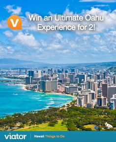 Dreaming of your next vacation to #Hawaii? Be sure to enter our #giveaway for a chance to win an Ultimate Oahu Experience!