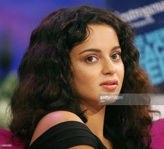 Indian actress Kangana Ranaut does an interview regarding the TV show... News Photo | Getty Images