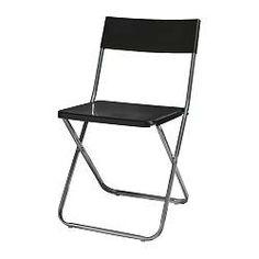 JEFF Klapstoel - zwart - IKEA 6,99 euro