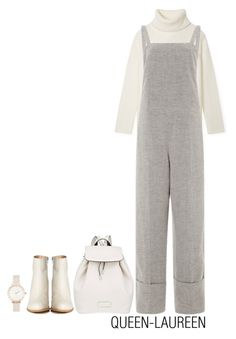 """""""SMOKE"""" by queen-laureen ❤ liked on Polyvore featuring Tory Burch, Wes Gordon, Marc by Marc Jacobs, MM6 Maison Margiela and Olivia Burton"""