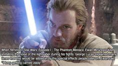 Star Wars Facts - Ewan McGregor (Obi-Wan Kenobi)
