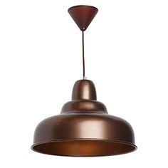 Lámpara de techo Natacha marrón