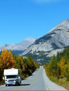 On the Road to Jasper, Icefields Parkway, Kanada (Foto von Sk-Kunde M. Kuhn) #Panoramastraße, #Icefieldparkway, #Wohnmobil, #Kanada