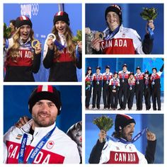 Canada's athletes continue to own the podium with grace and style. #HBCOlympics #wearewinter #olympics