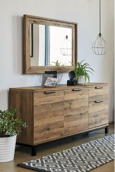 Buy Bronx Large Sideboard from the Next UK online shop Dining Room Sideboard, Large Sideboard, Oak Sideboard, Dining Room Furniture, Living Room Sideboard Ideas, Hallway Sideboard, Oak Dining Room, Credenza, Living Room Colors