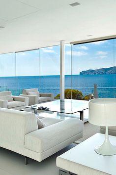 modern interiors & architecture — livingpursuit:   Mallorca Holiday Home   Source