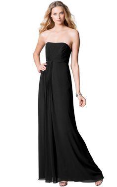 Cheap Zipper Strapless Sheath Sleeveless Natural Bridesmaid Dresses Free Measurement