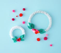 Mini Wreaths | Homemade Christmas Crafts for Kids | Real Simple