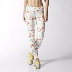 79059f4b21606 adidas - Mallas Deportivas Estampadas adidas StellaSport Mujer Calzas  Estampadas