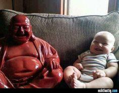 Baby und Buddha