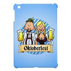 Oktoberfest iPad Mini Covers. #Zazzle #Cardvibes #Tekenaartje #Wiesn