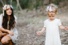 ∆∆ a tiny arrow feather crown ∆∆ San Diego Mother-Daughter photos by En Pointe Photography | 100 Layer Cakelet