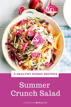 Savor the last weeks of #summer with these healthy #picnic recipes.