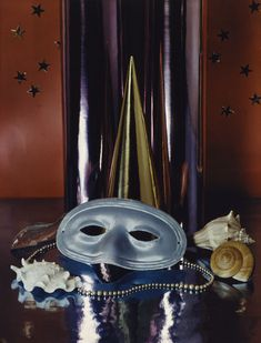 Paul Outerbridge (1896-1958) … Party Mask with Shells … 1936 …