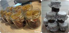 blog- TeLi : Jedlé ježíškovi diy dárky Mason Jars, Desserts, Blog, Tailgate Desserts, Dessert, Blogging, Deserts, Food Deserts, Mason Jar