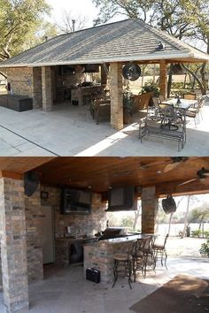Building Plans And Blueprints 42130: Outdoor Bbq Kitchen Bar Cabana Pool  House Bathroom Plans,