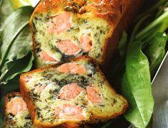 Cake au saumon et à l'oseille Voir la recette du Cake au saumon et à l'oseille  Cette recette est extraite du livre Les cakes de Sophie, Editions de la Martinière                                                                                                                                                                                 Plus