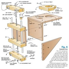 Shop-Made Router Lift Features you can't buy at a price you won't believe. By Bruce Kieffer and Richard Tendick Router lifts are hot items these days and for good reason. Veteran router table users love their ability to make super-fine micro adjustments or rapidly raise the bit right from the tabletop. No more fumbling under the table like a contortionist. The only drawback is the price: $200 to $500. Ouch! …