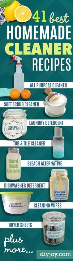 Natural Homemade Cleaners and Recipes, natural cleaners, natural cleaner recipes cleaning hacks, cleaning tips and tricks, cleaning schedule Homemade Cleaning Products, Natural Cleaning Products, Cleaning Tips For Home, Cleaning Diy, Cleaning Vinegar, Kitchen Cleaning, Floor Cleaning Products, Natural Products, Essential Oil For Cleaning