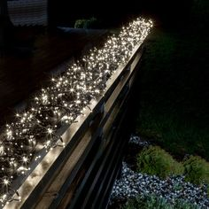 konstsmide 1160 warm white led multi function cluster string lights
