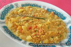 Receita de Carne de Soja ao Curry (Caril)