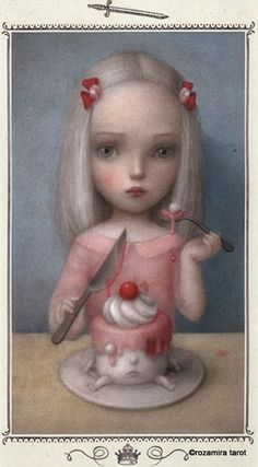 Nicoletta Ceccoli - Illustration - Tarot - 0
