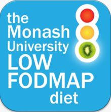 The Low FODMAP app is here!  Check it out for red light/green light FODMAPs foods, easy grocery lists & #fodmaps friendly recipes too.