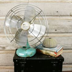 Mid-Century Table Fan now featured on Fab.