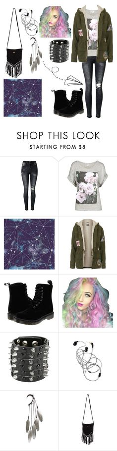 """""""Untitled #62"""" by beckybesel ❤ liked on Polyvore featuring Wildfox, Dot & Bo, Topshop, Dr. Martens, Tattify, Hot Topic, Anni Jürgenson and Rip Curl"""