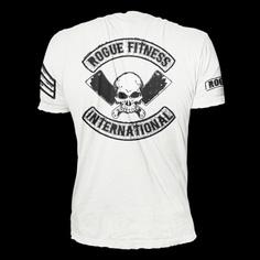 Black on White Rogue International Shirt
