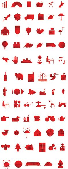 EDP (Energias de Portugal) rebrands with a great new set of icons.