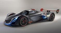 Coolest concept car ever? yes. Mazda Furai.