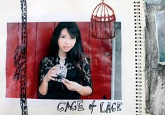 Cage/lace