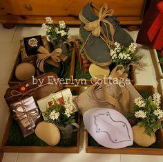 Rustic Gift Tray / Gubahan Hantaran