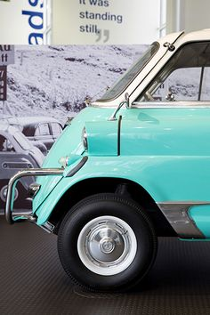 """Famous Isetta """"bubble car"""" from the B<W Museum (Photograph by Jessica Sample)"""