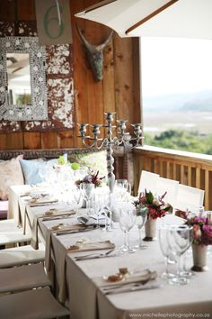 Emily Moon River Lodge | Wedding Venue | Garden Route | Plett Moon Wedding, Lodge Wedding, Wedding Venues, Honeymoon Suite, River Lodge, Moon River, South Africa, Reception, Table Decorations