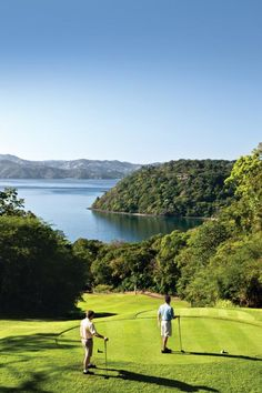 Four Seasons Papagayo in the Papagayo Peninsula, Costa Rica was truly created for the vacationing golfer.